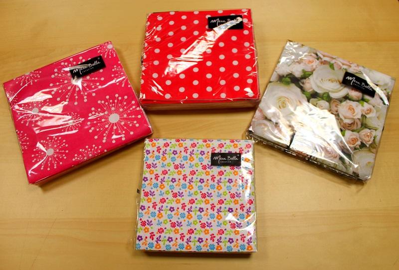 paquets de serviettes Mesa Bella