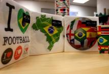 Serviettes en papier Coupe du Monde