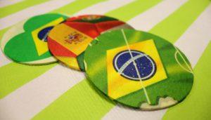 Sous-bock coupe du monde de football