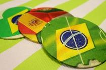 [TUTO] Des dessous de verre Coupe du Monde pour la Fête des Pères !