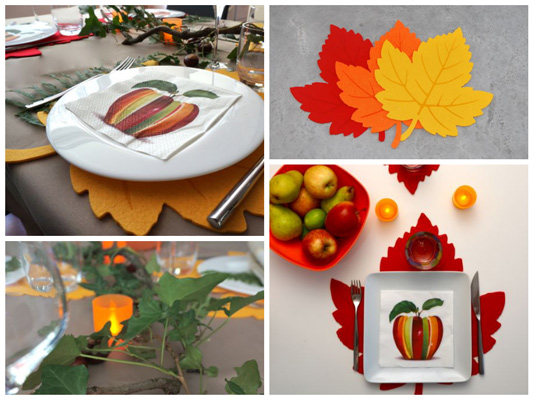 montage du table d'automne