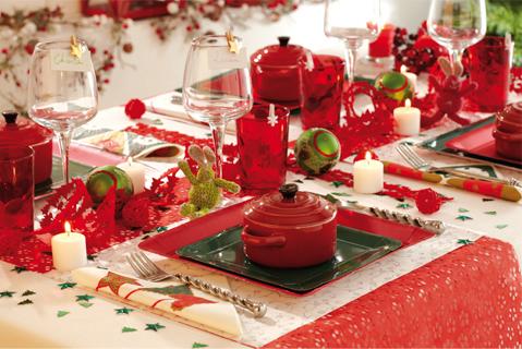 pourquoi choisir le rouge pour sa table de no l mesa bella blog. Black Bedroom Furniture Sets. Home Design Ideas