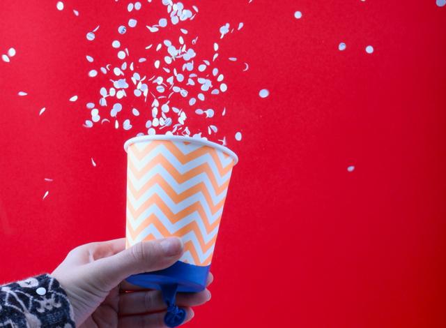 tuto créer un canon à confettis !