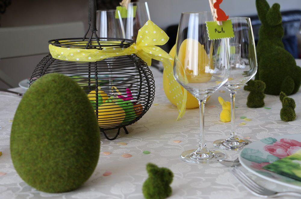 PHOTO TABLE DE PÂQUES