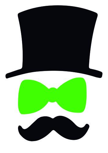 ACCESSOIRES Chapeaux noeud moustache
