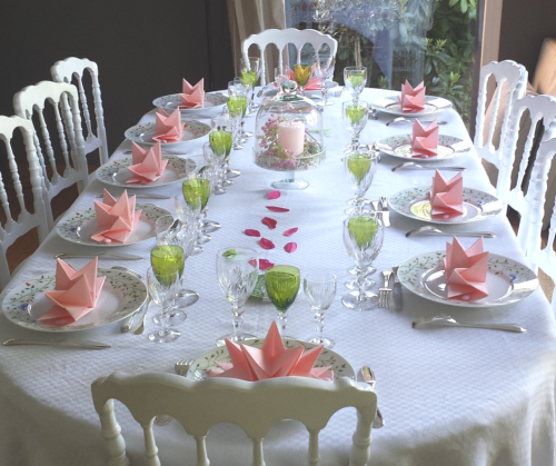 Id es de table de communion mesa bella blog - Idee deco de table pour bapteme fille ...