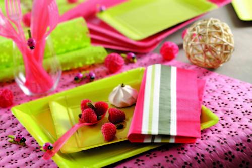 rose et pistache