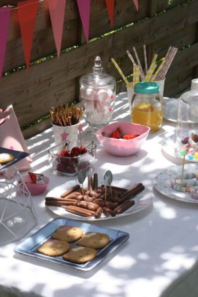 sweet table anniversaire fille