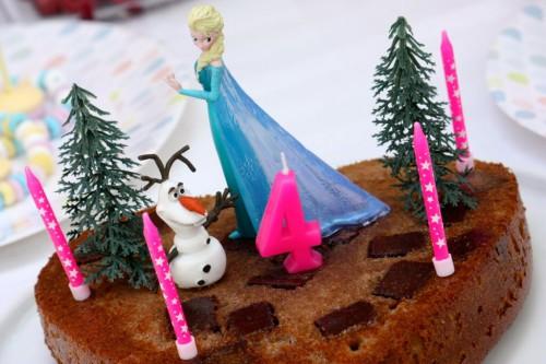 Goûter d'anniversaire Reine des neiges