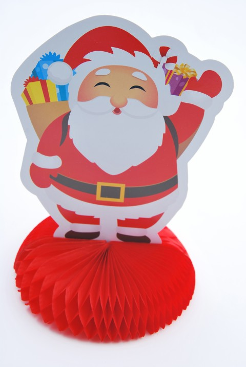 Figurine pompon Père Noël Mesa bella