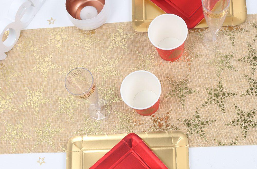 Photo de une pour l'article quel chemin de table pour votre table de noël