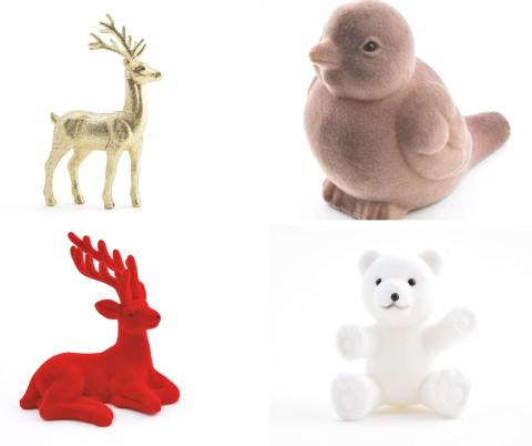 Décor figurine Noël