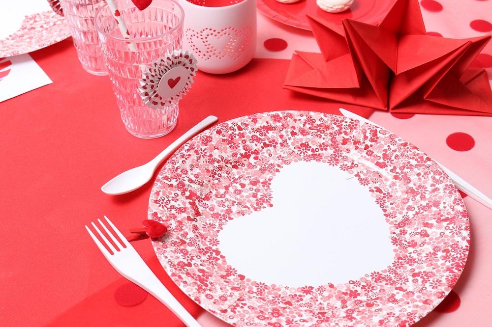 table rouge passion pour la st valentin mesa bella blog. Black Bedroom Furniture Sets. Home Design Ideas