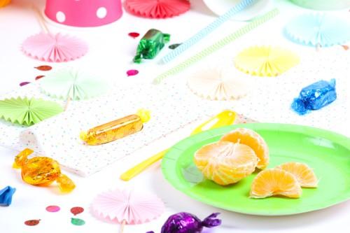 déco carnaval et rainbow party