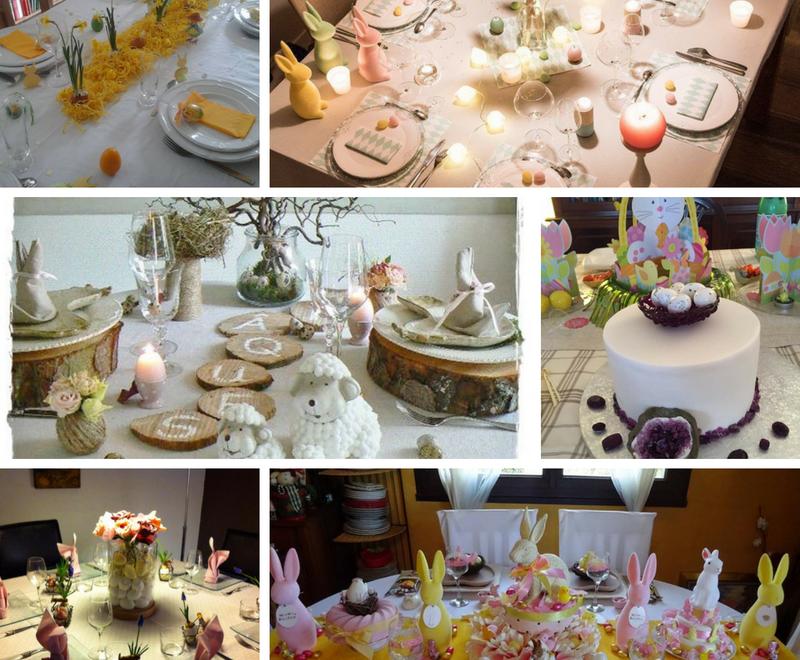 """RÉSULTAT CONCOURS """"ma table de pâques"""""""