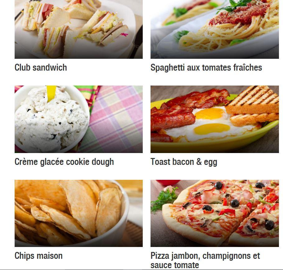 recettes cuisine football