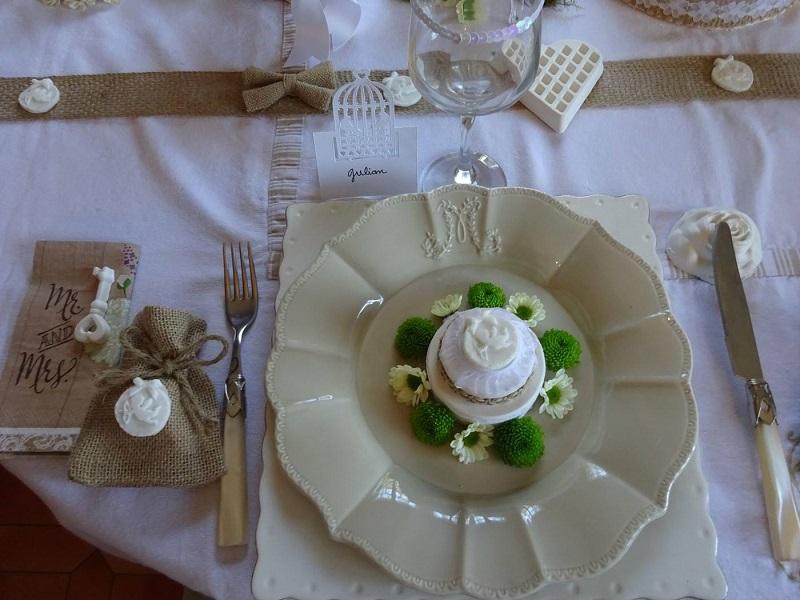 les tables imaginatives de DOM mariage chic et naturel
