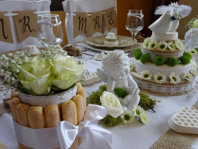 les tables de dom mariage chic et naturel
