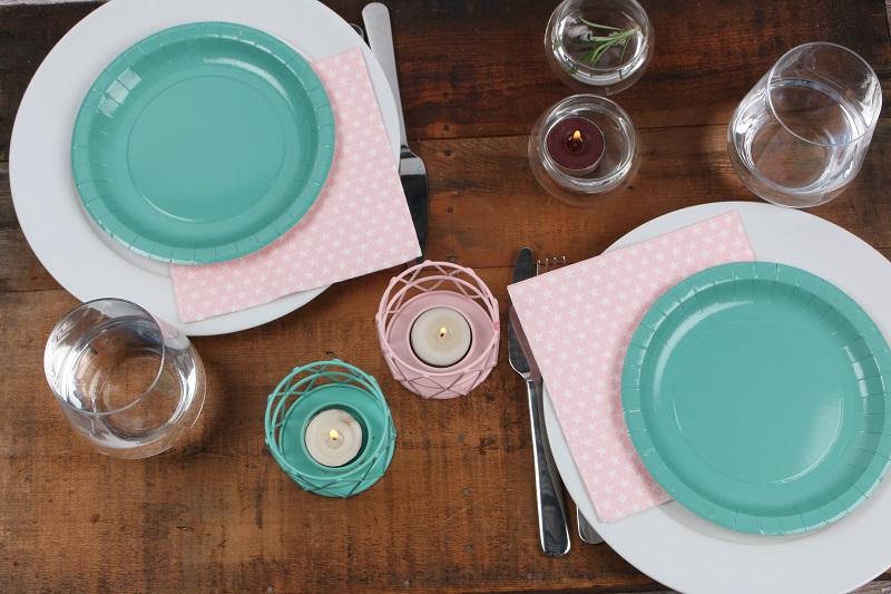table entre pastel et nature Mesa Bella