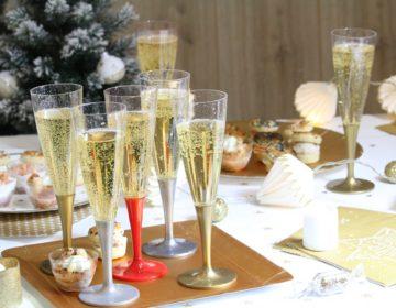 flute a champagne pour le reveillon du nouvel an