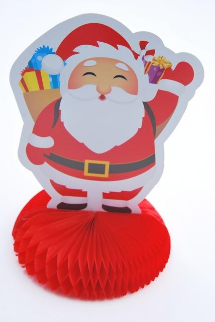 Déco papier Père Noël