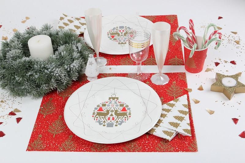 Table d'ambiance décoration végétale