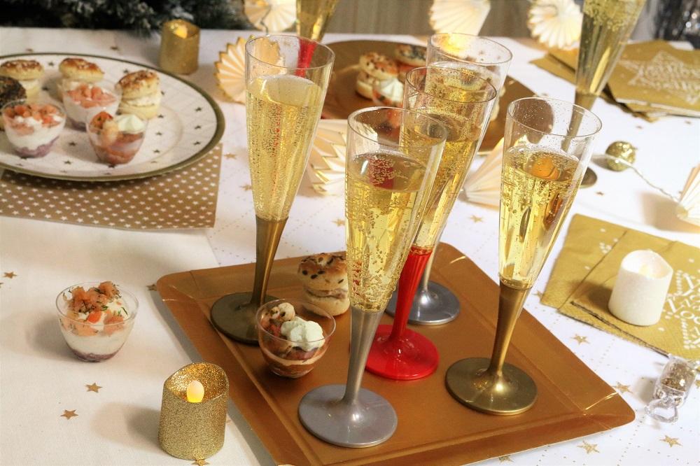 flutes à champagne