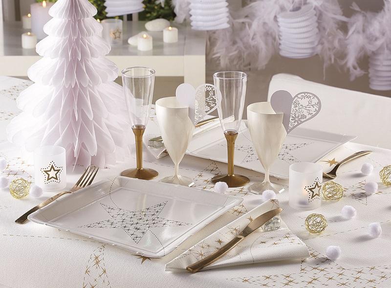 Photo ambiance décoration en papier sapin