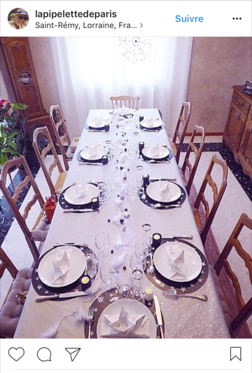 Table de fete