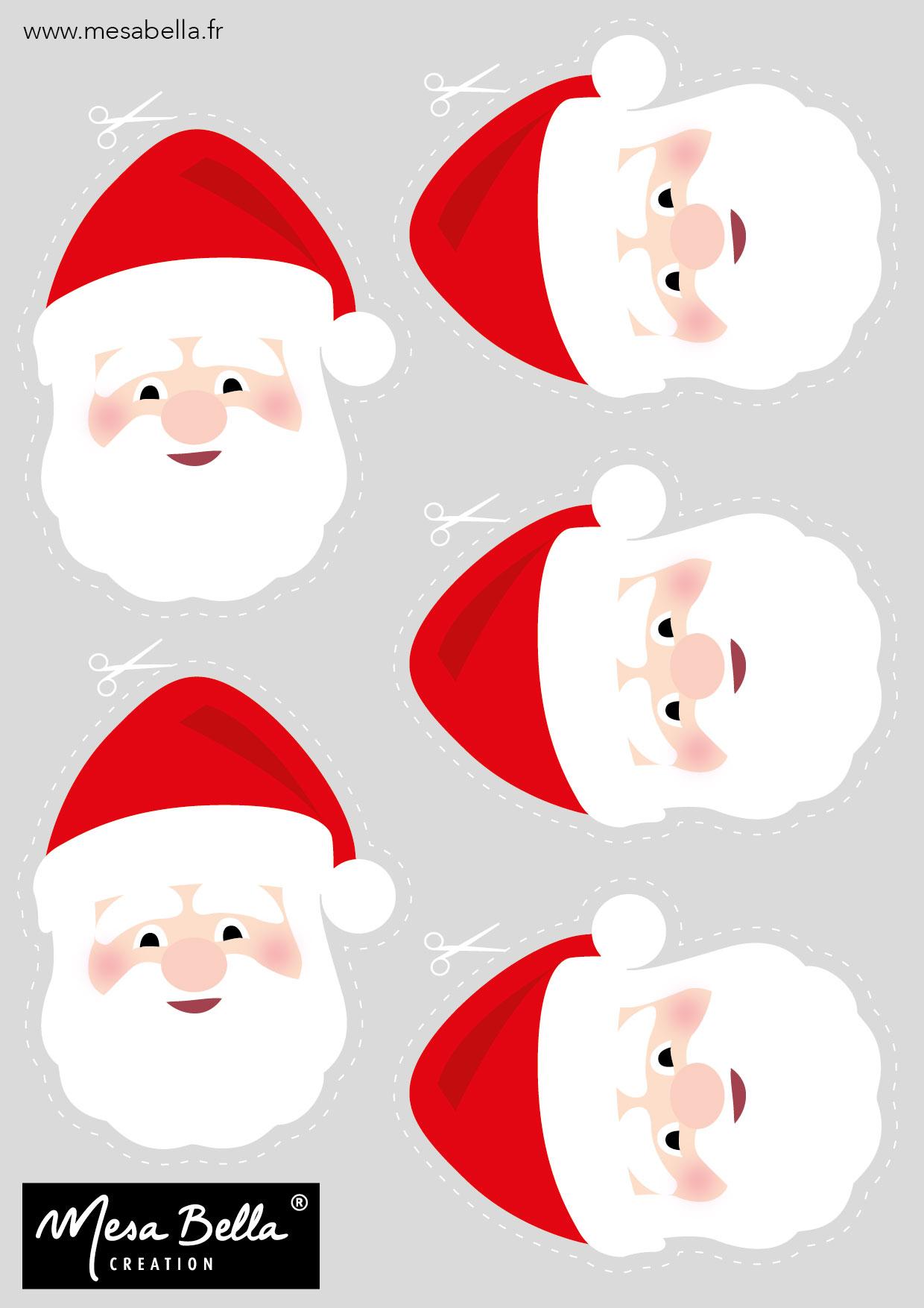 Personnalisez Votre Serviette Père Noël Mesa Bella Blog