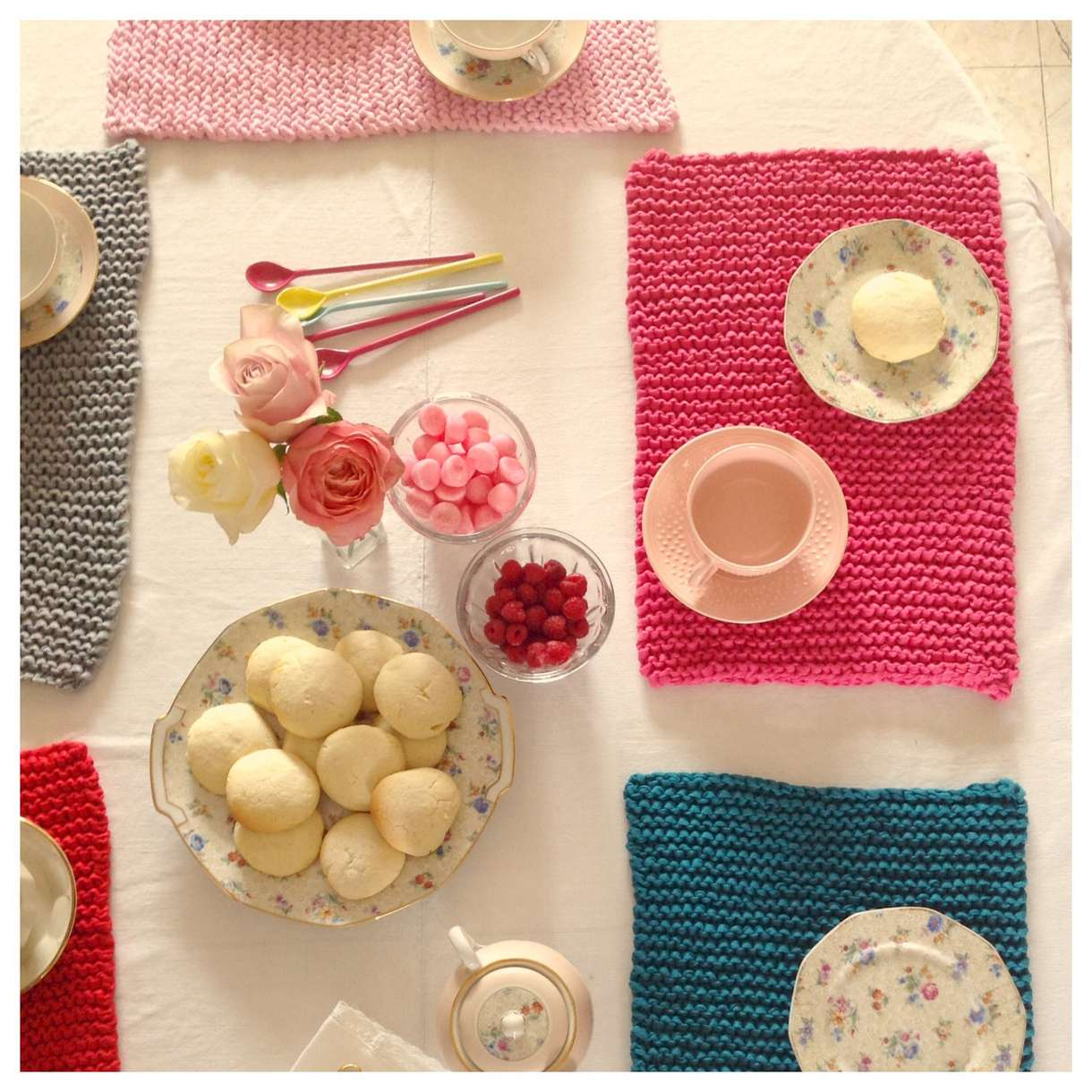 Sets de table tricot
