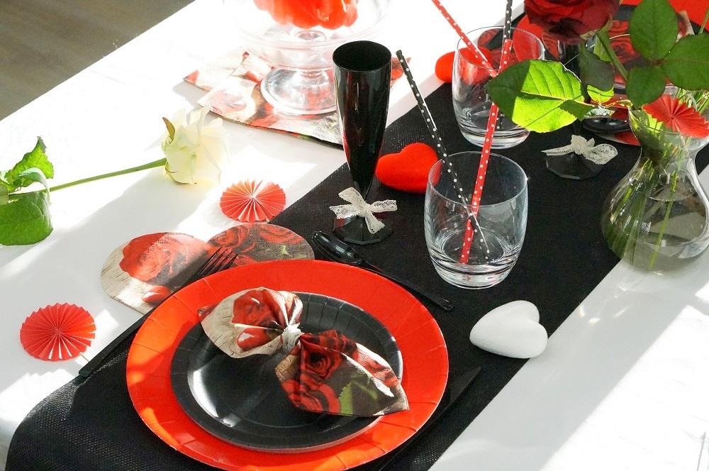 Table rouge et noir