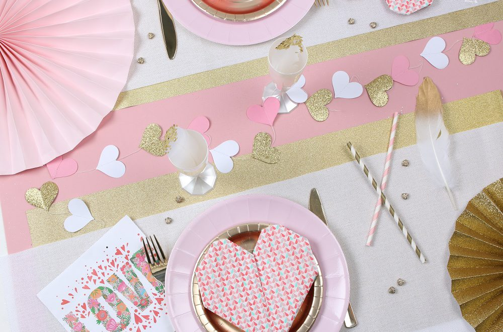 Table de St Valentin