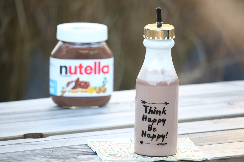 milk shake au nutella