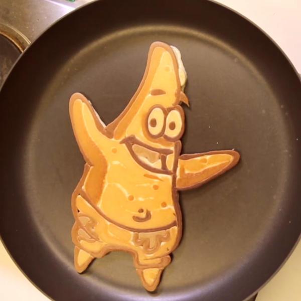 pancake patrick bob l'éponge