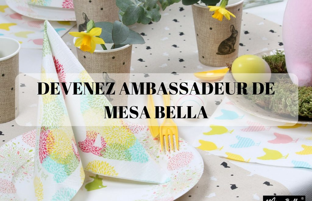 DEVENEZ BLOG PARTENAIRE DE MESA BELLA