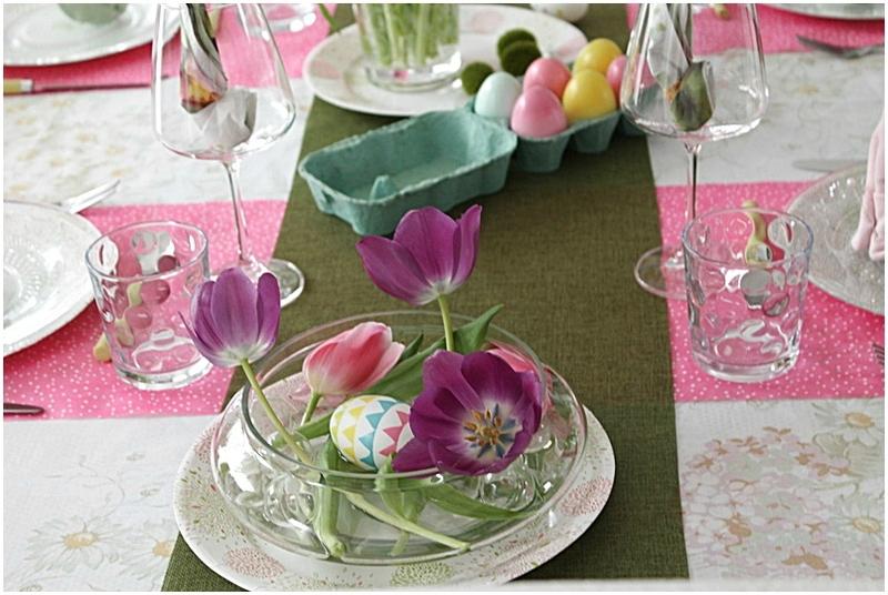 plat à tulipes