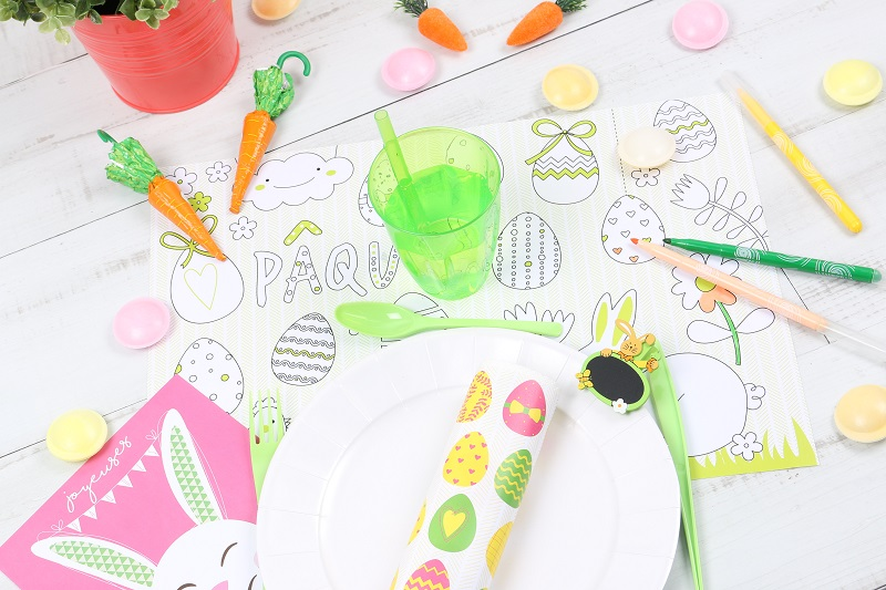 Set de table enfants