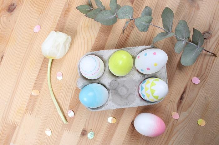 D co de p ques 5 id es autour des oeufs mesa bella blog - Decoration de paquesbelles suggestions ...
