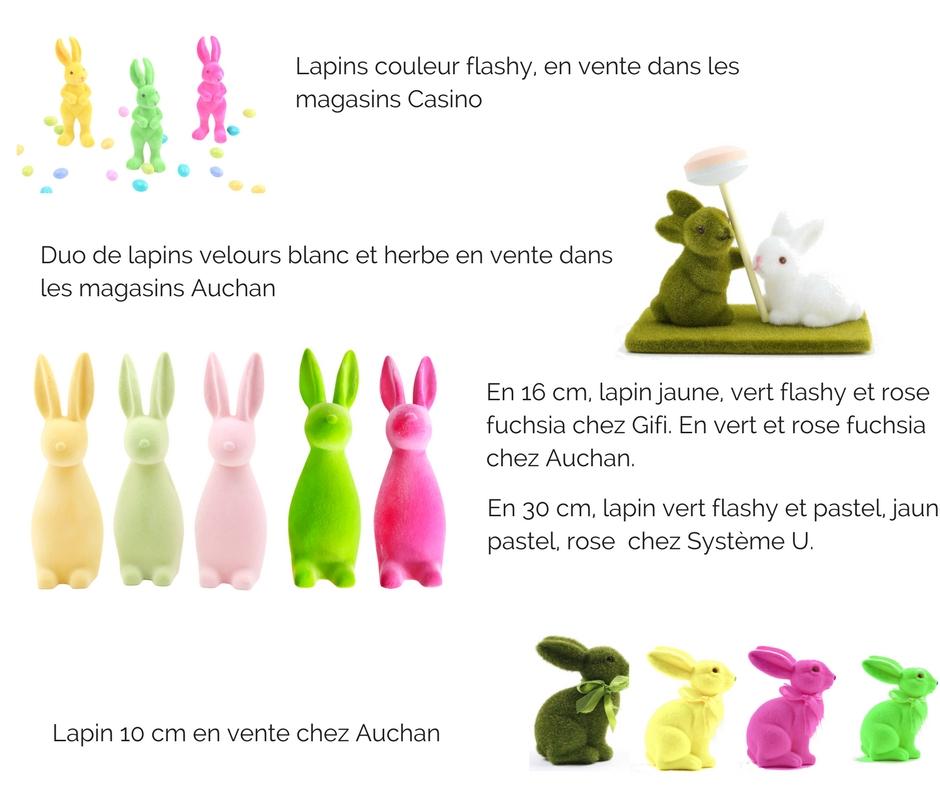 Collection lapin de Pâques de Mesa bella
