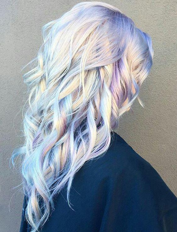 Cheveux holographiques