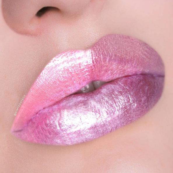 Holographic lipstick