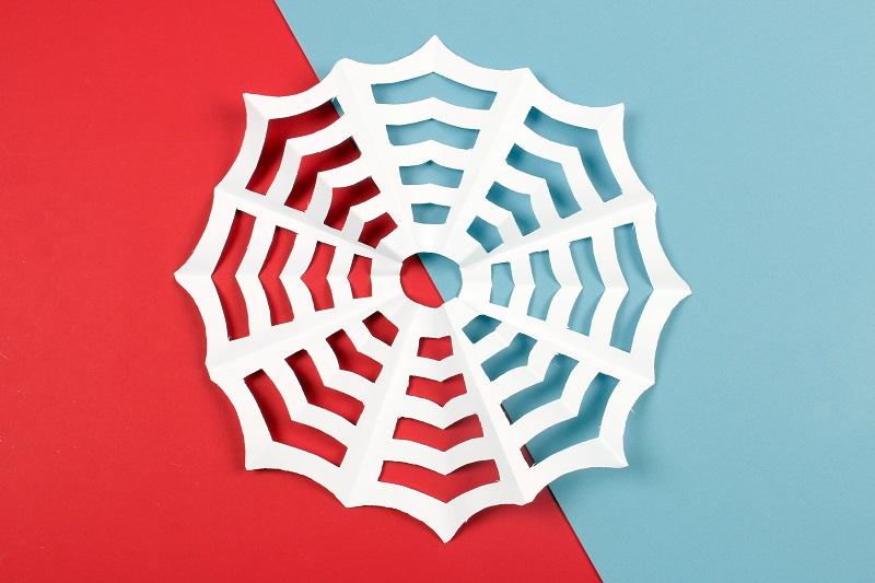 Toile spiderman