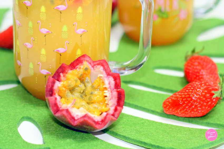 cocktail de fruits sans alcool