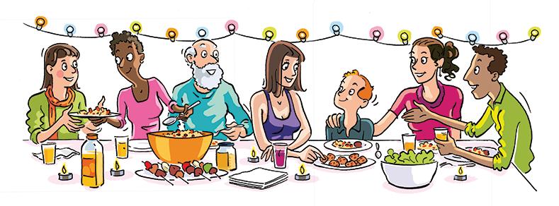 Repas entre voisins