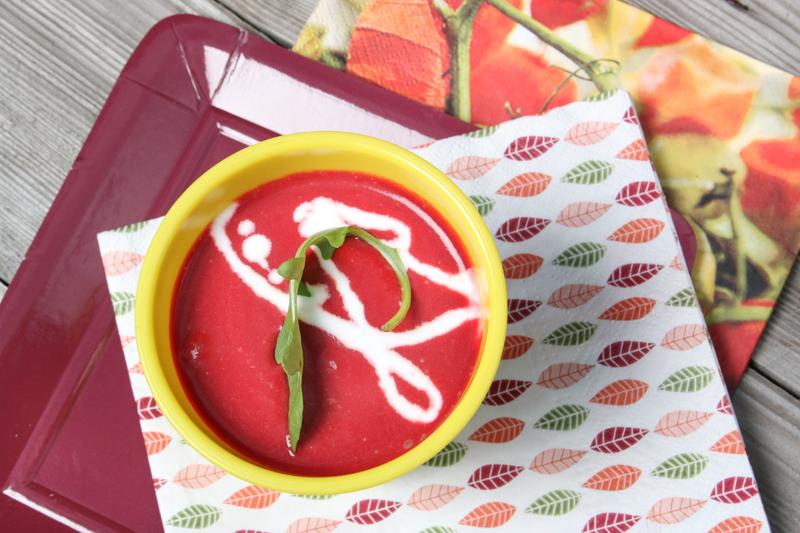 soupe betterave et coco