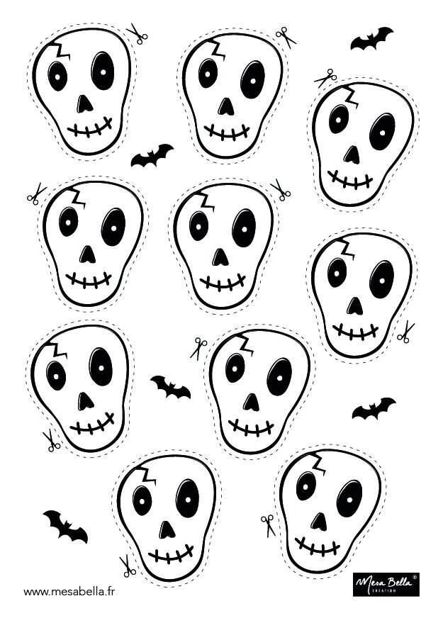 Planche tête Squelette Tshirt-01 - Copie