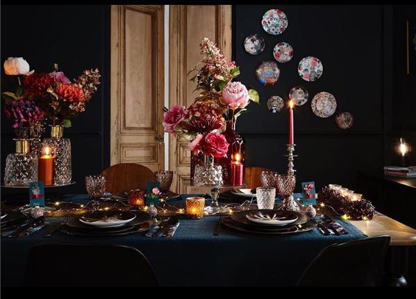 table de Noël flamand