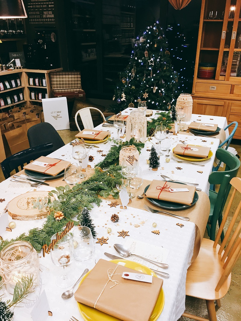 grande table de noel Ze Fabrik