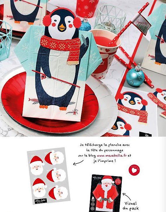 kids crhistmas pingouin à télécharger